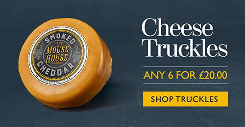 Mouse House Cheese Truckles. Buy any 6 for £20.00