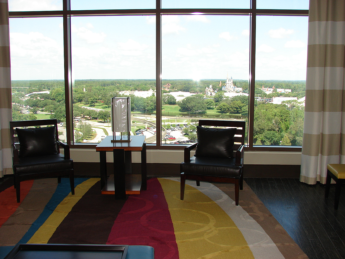Bay Lake Tower 2 Bedroom Villa Theme Park View