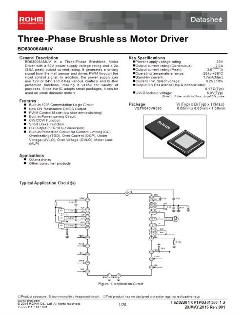 small resolution of brushless dc motor controllers 2 a motor motion ignition controllers drivers mouser canada