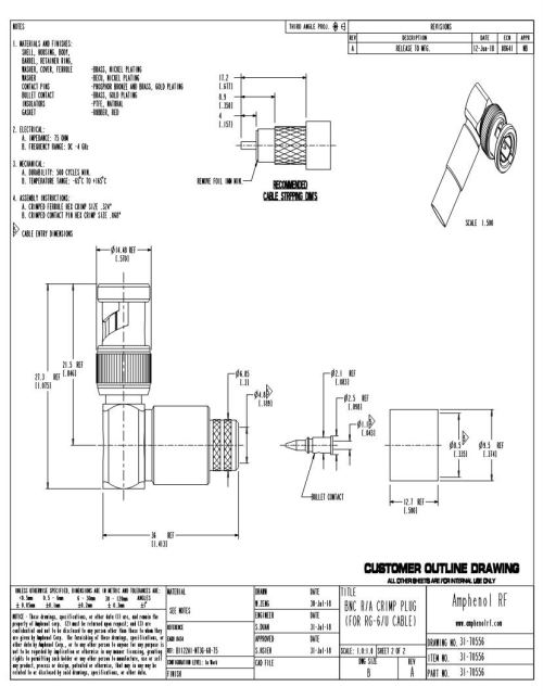 small resolution of plug standard connectors datasheets