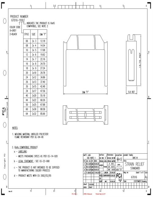 small resolution of 67 016 01 headers wire housings datasheets