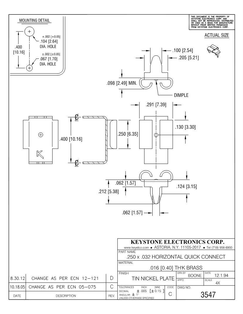 medium resolution of 80 205 keystone electronics fuse clips