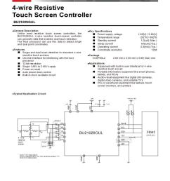 dual touch screen wiring diagram wiring diagram specialties100270209 rohm semiconductor touch screen controllers mouserdual touch screen [ 828 x 1068 Pixel ]