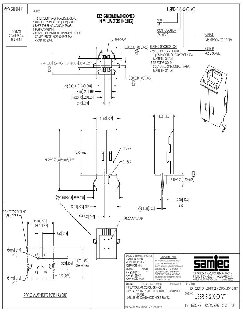 medium resolution of usb type b diagram