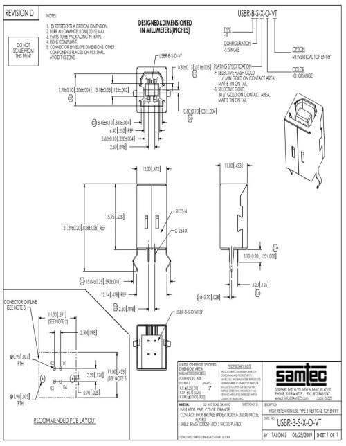 small resolution of usb type b diagram