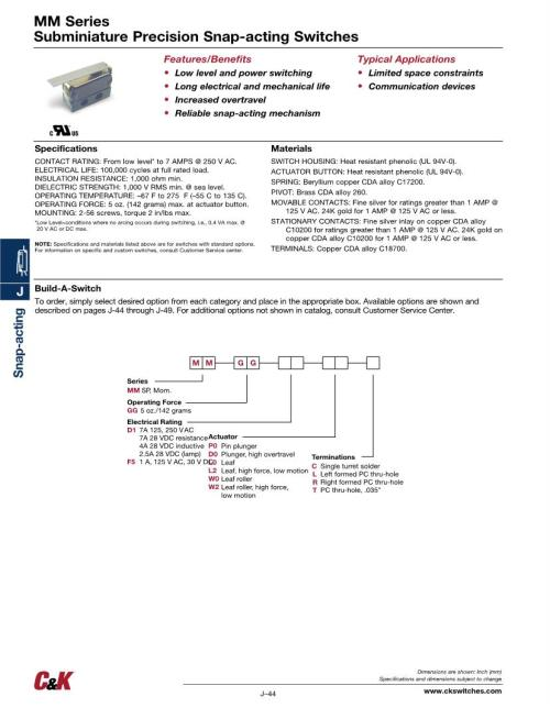 small resolution of wrg 8679 c u0026k switches basic snap action switches mouserbeautiful 2 way electrical switch wiring diagram if you want to acquire all of these incredible