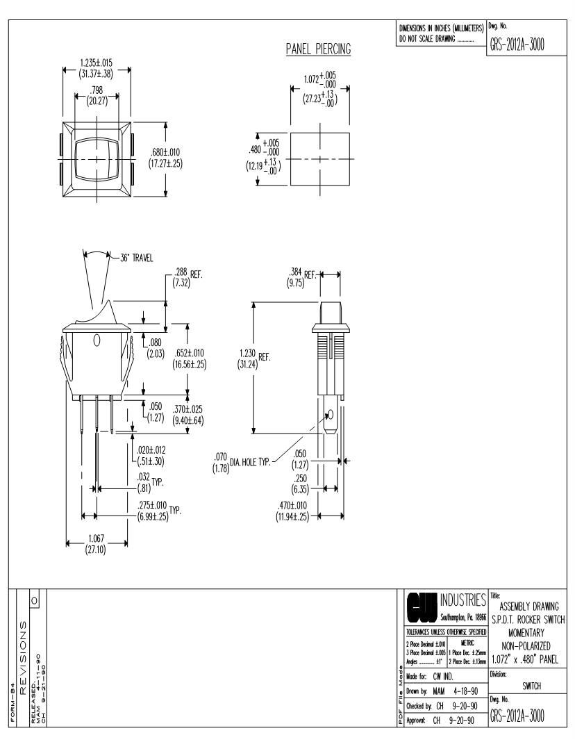 medium resolution of 125v toggle switch wiring diagram wiring diagram database12a rocker switches mouser toggle switch installation 125v toggle