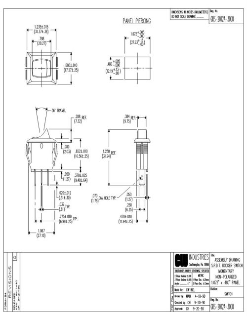 small resolution of 125v toggle switch wiring diagram wiring diagram database12a rocker switches mouser toggle switch installation 125v toggle