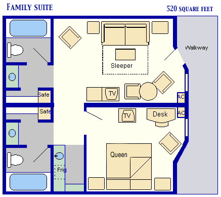 Family Suites At Disney's All Star Music Resort