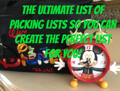 The Ultimate Guide To Packing Lists