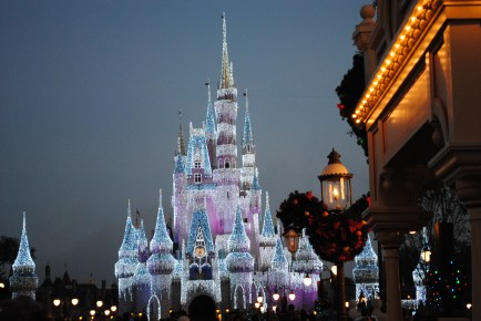 Early December is a fantastic time to visit with parks and resorts decorated for the holiday season.
