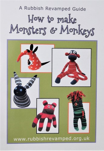 The How to Make Monsters and Monkeys booklet