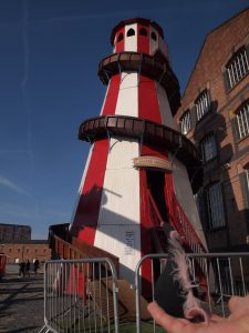 Fury looks at an old fashioned Helter Skelter
