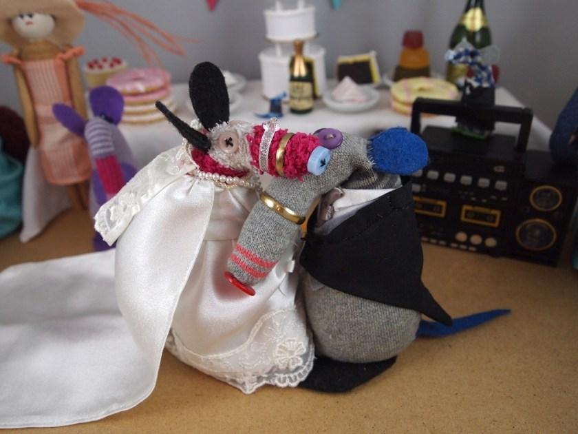 Dim and matilda dance together snozzle to snozzle
