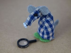Micro has a magnifying glass