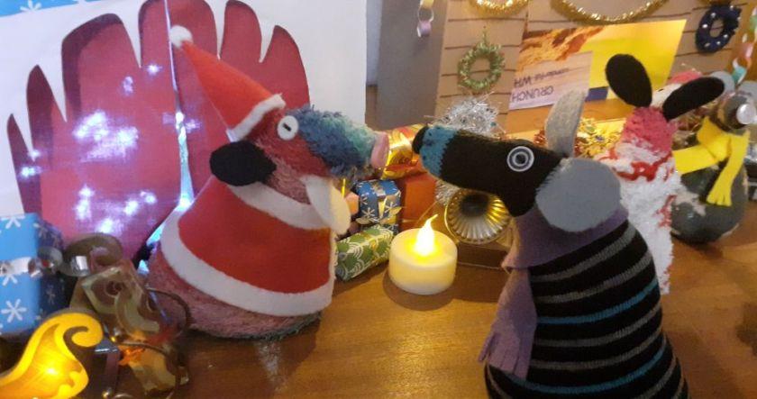 Hypno talks to Santa