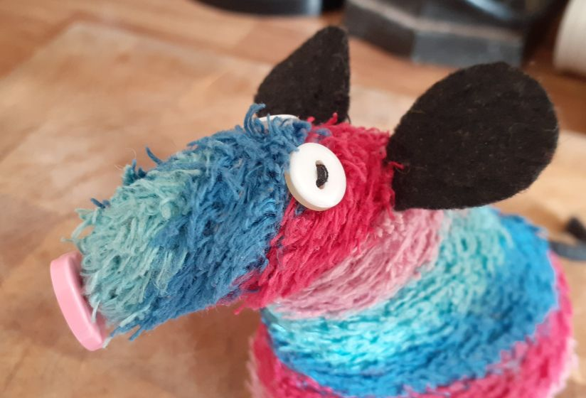 A close up of ratvaark