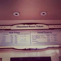 Disneyland Ticket Increase Sunday Night