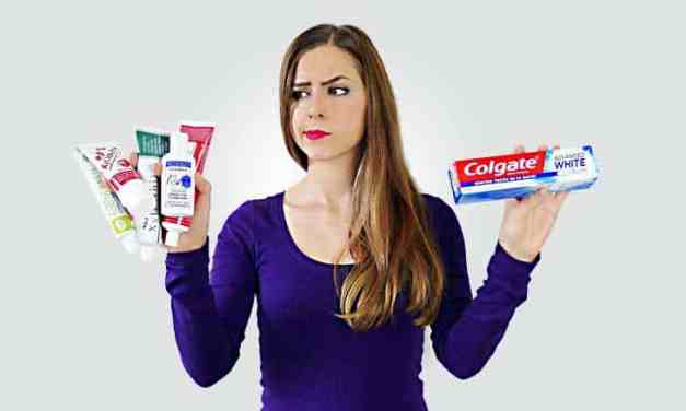 SLS free toothpaste v Regular Toothpaste