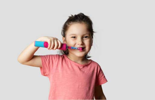 What age can a child use an electric toothbrush