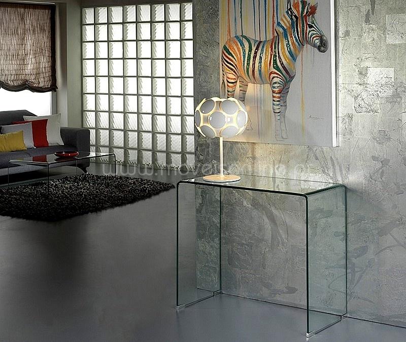 Consola Glass ao melhor preo s em Moveis Online