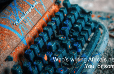 Who's writing Africa's next chapter?