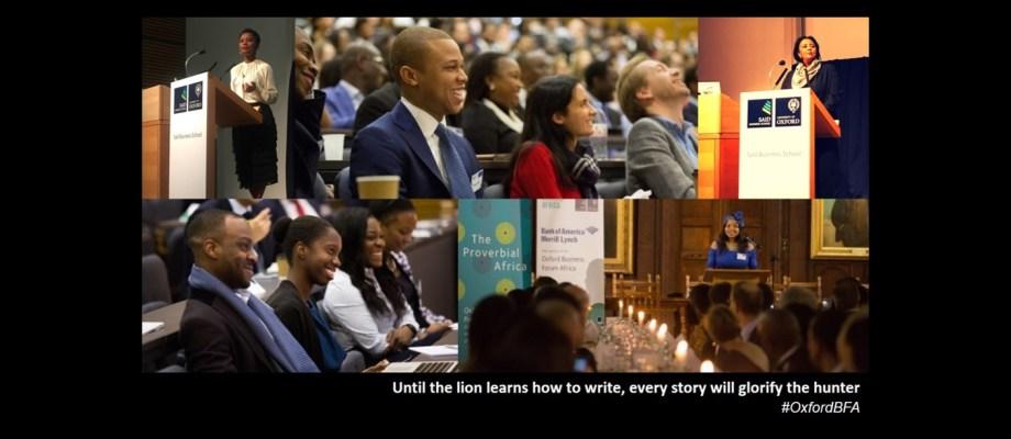 Movemeback Oxford BFA Business Forum Africa 2017