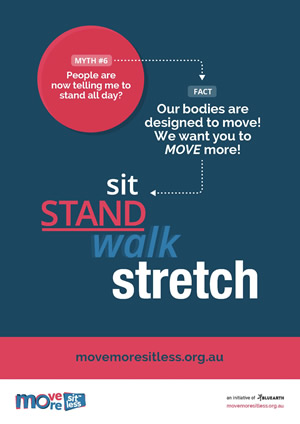 DOWNLOAD POSTERS  Move More Sit Less
