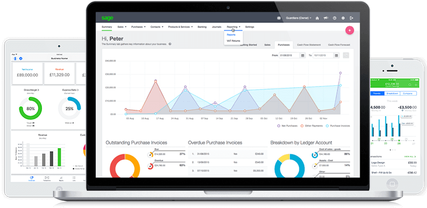 Sage Business Cloud Accounting Program