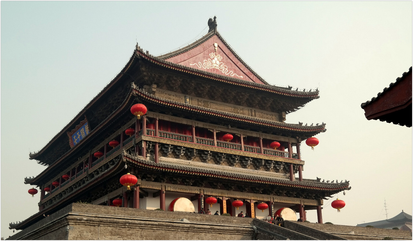 China - XiAn - Tower Bell Monument