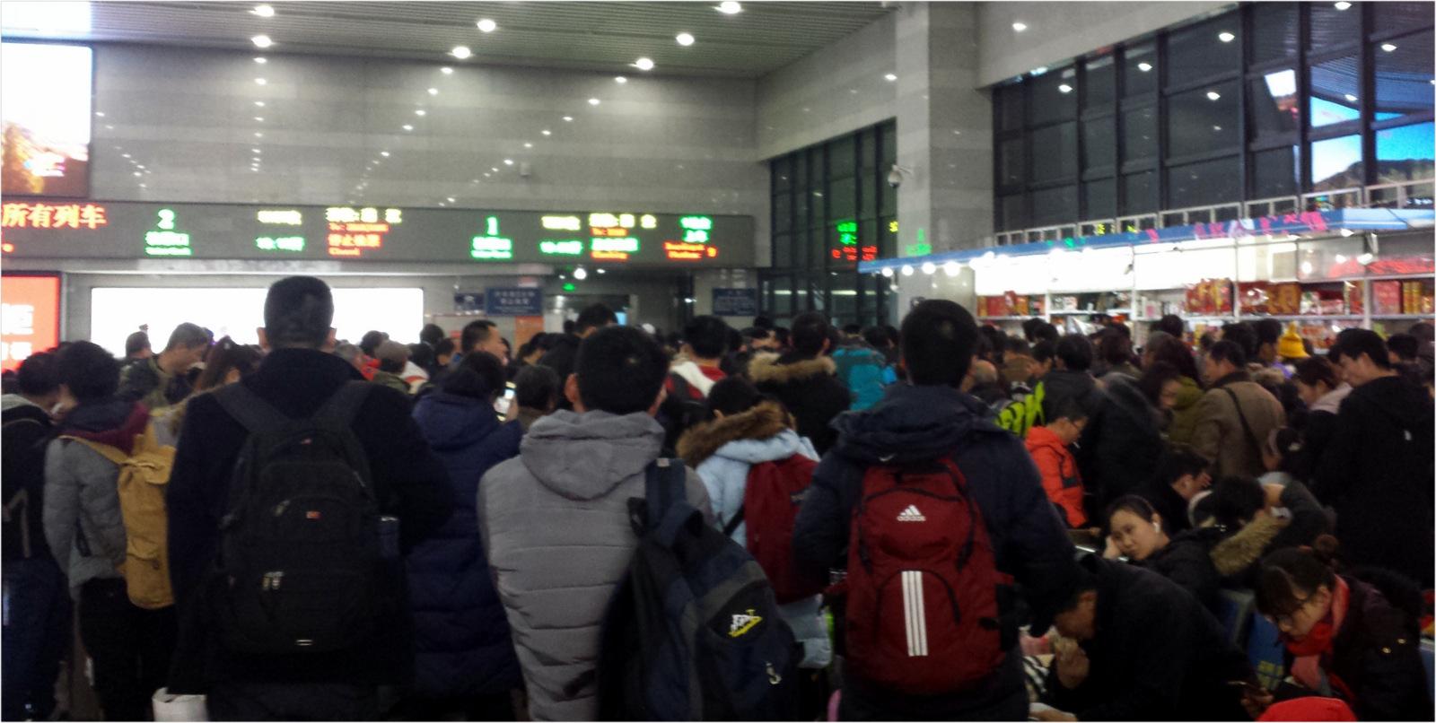 China - Train station