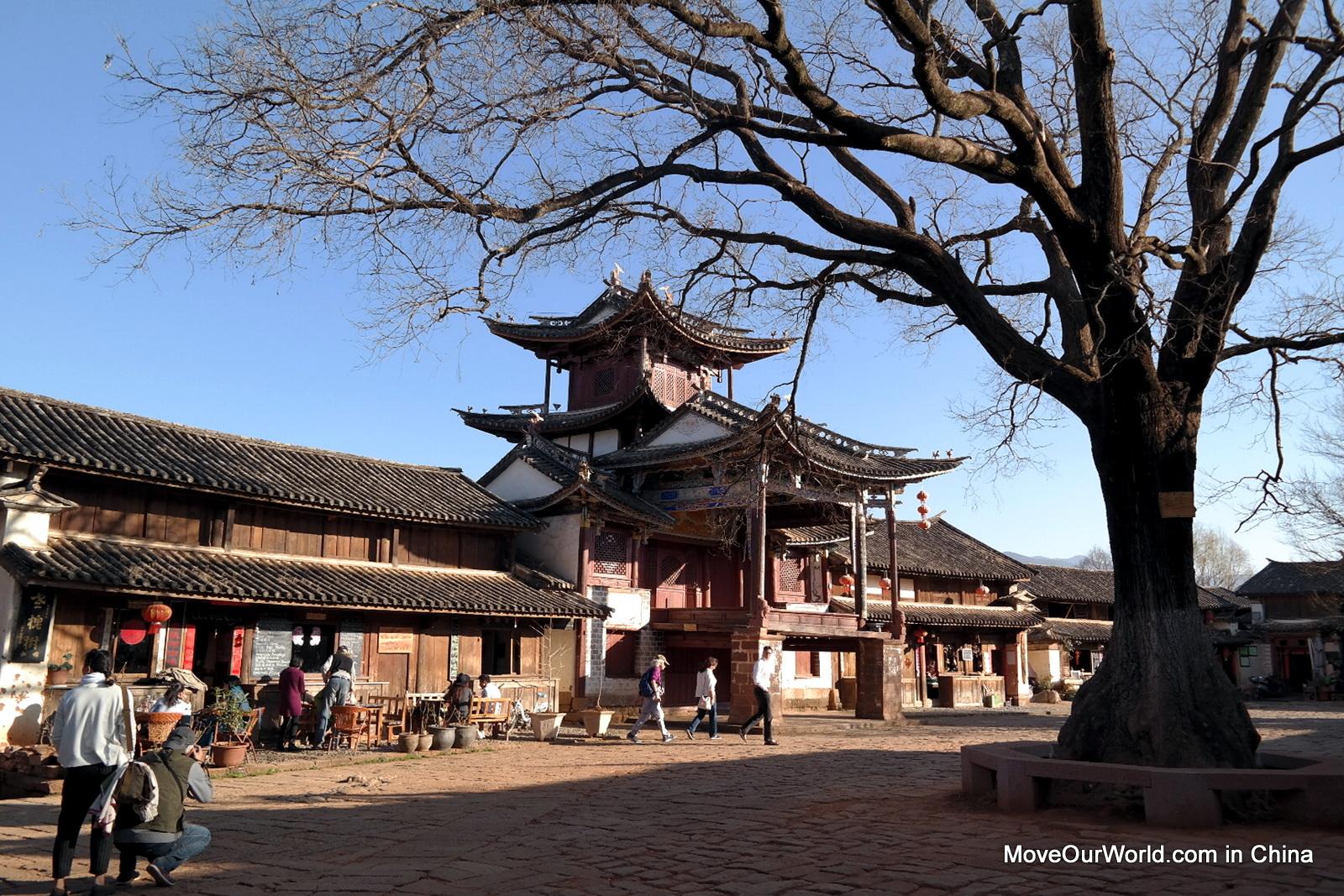 Shaxi Main square