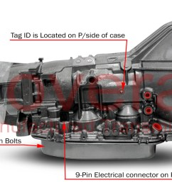 4r100 check ball locations f series superduty diesel [ 1500 x 836 Pixel ]
