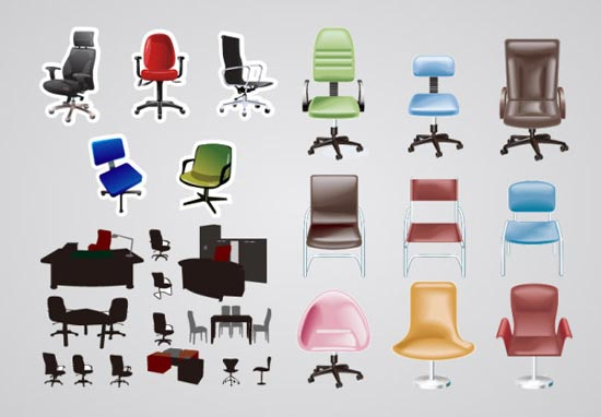 office chair types masters folding chairs six different of movere