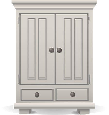 to pack and move an armoire or wardrobe