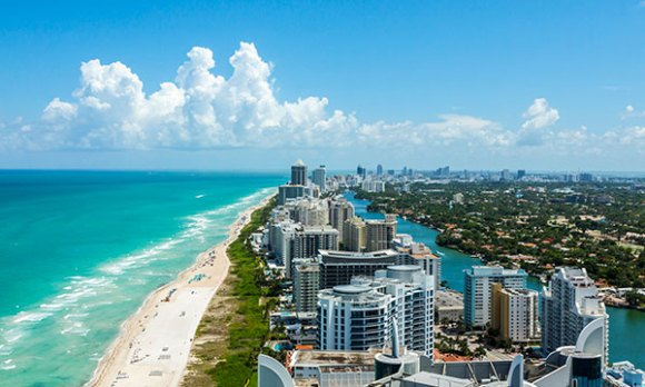 Miami is a top relocation choice for singles