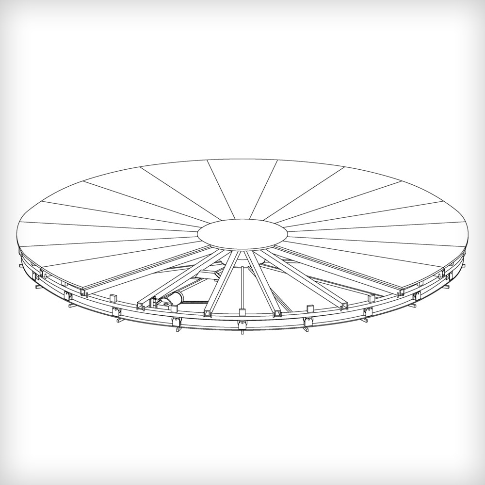 Revolving Stage Turntables (2m