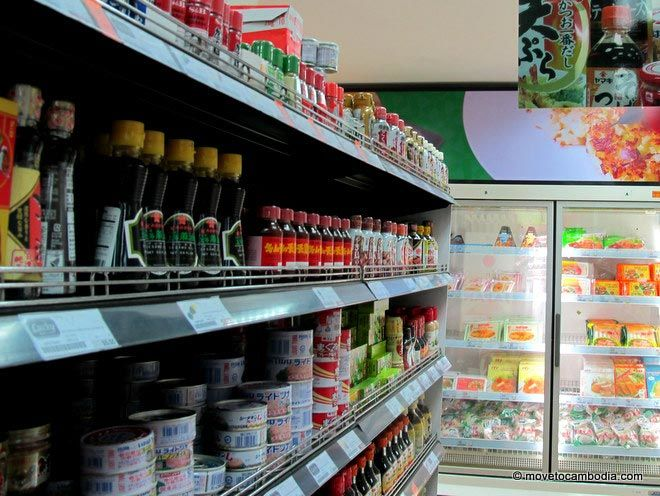 The best supermarkets in Phnom Penh