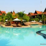 The Sokhalay Angkor pool by day