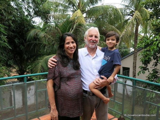 Narisara Murray and family