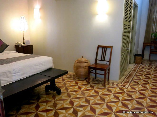 Bambu Hotel Battambang interior