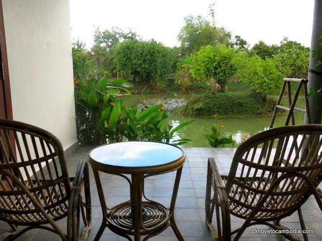 Battambang Resort lake room
