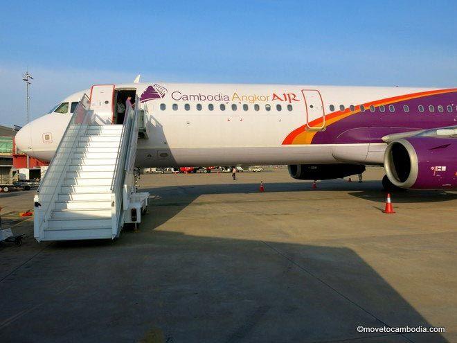 Cambodia Angkor Air A321