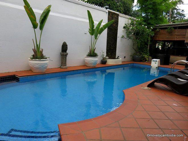 Coolabah Hotel Sihanoukville pool