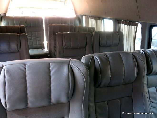 Elephant Express HiAce interior