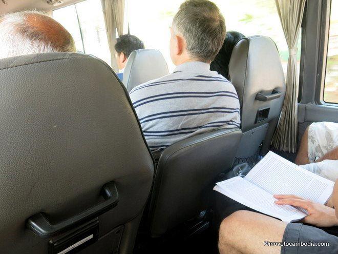 Giant Ibis mini bus jumpseat