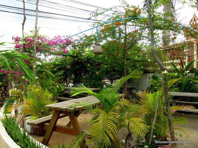 Here be dragons battambang garden