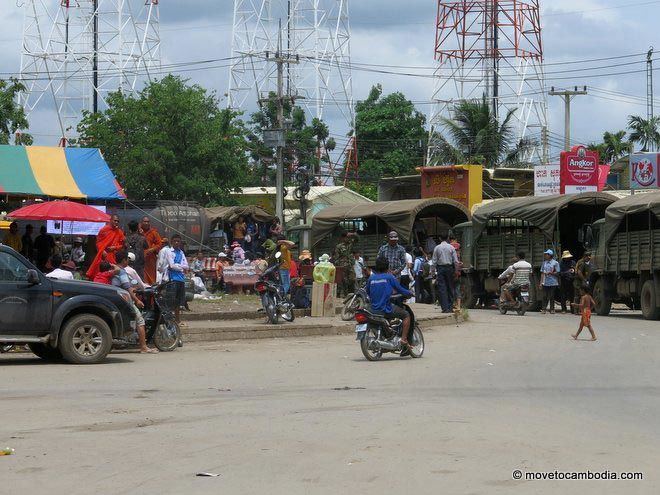 Cambodia poipet workers