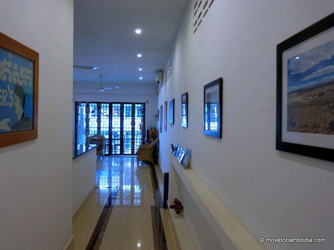 the interior of a Phnom Penh apartment