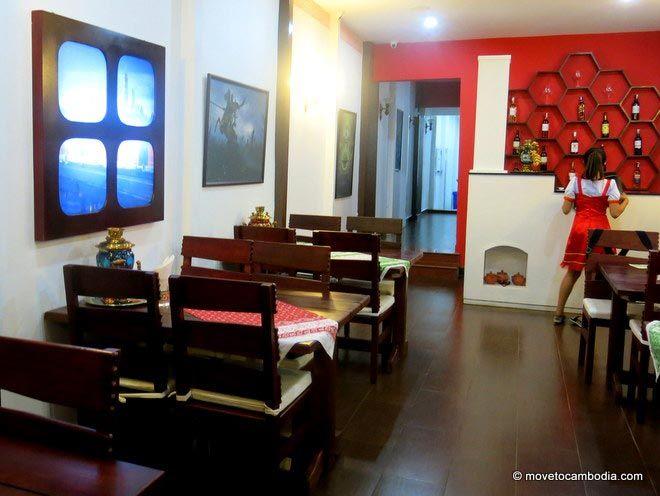 Samovar Restaurant Phnom Penh